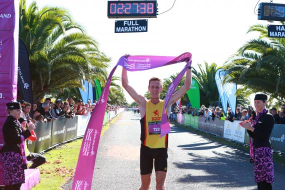 JONES MARATHON STOCKS CONTINUE TO RISE WITH WIN IN HAWKE'S BAY WHILE ULTRA-RUNNER FLORI TAKES OUT THE WOMEN'S RACE