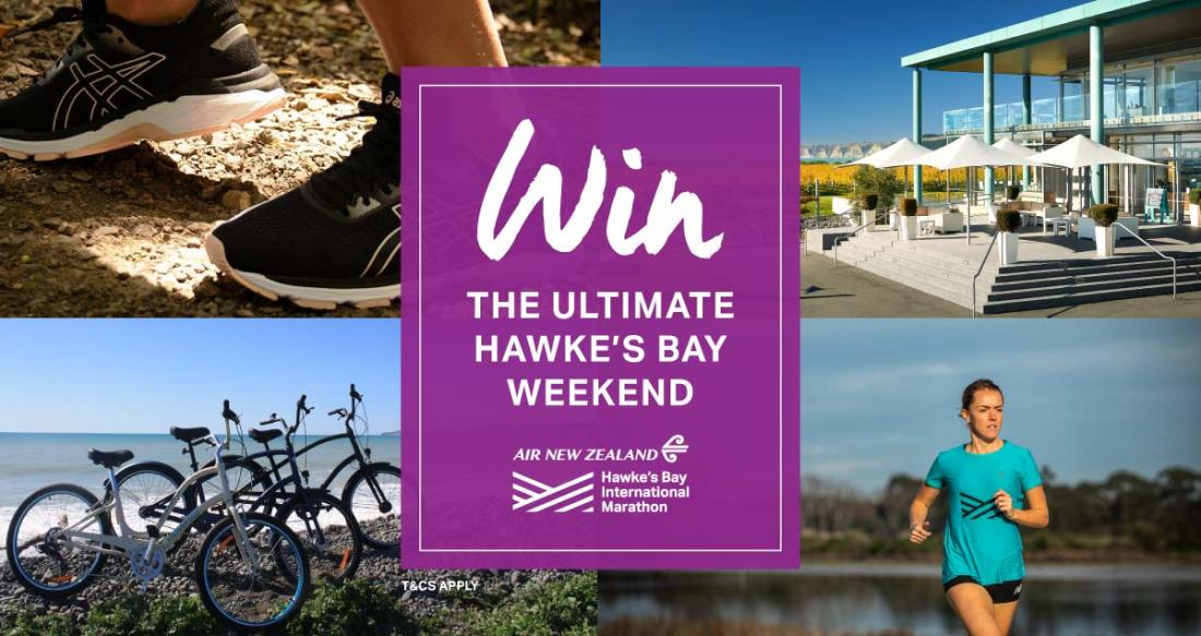 WIN the Ultimate Hawke's Bay Weekend