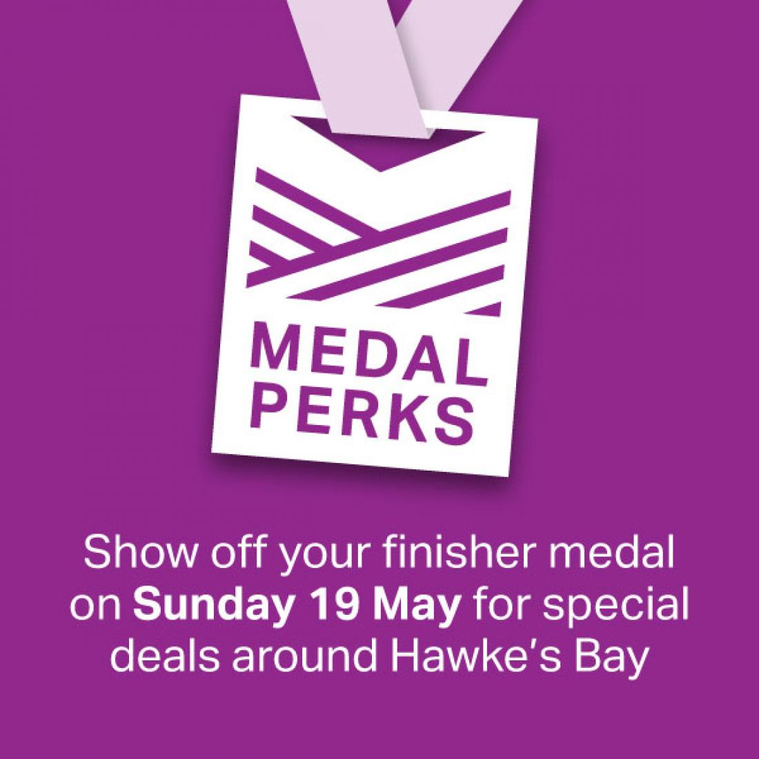Medal Perks return for 2019